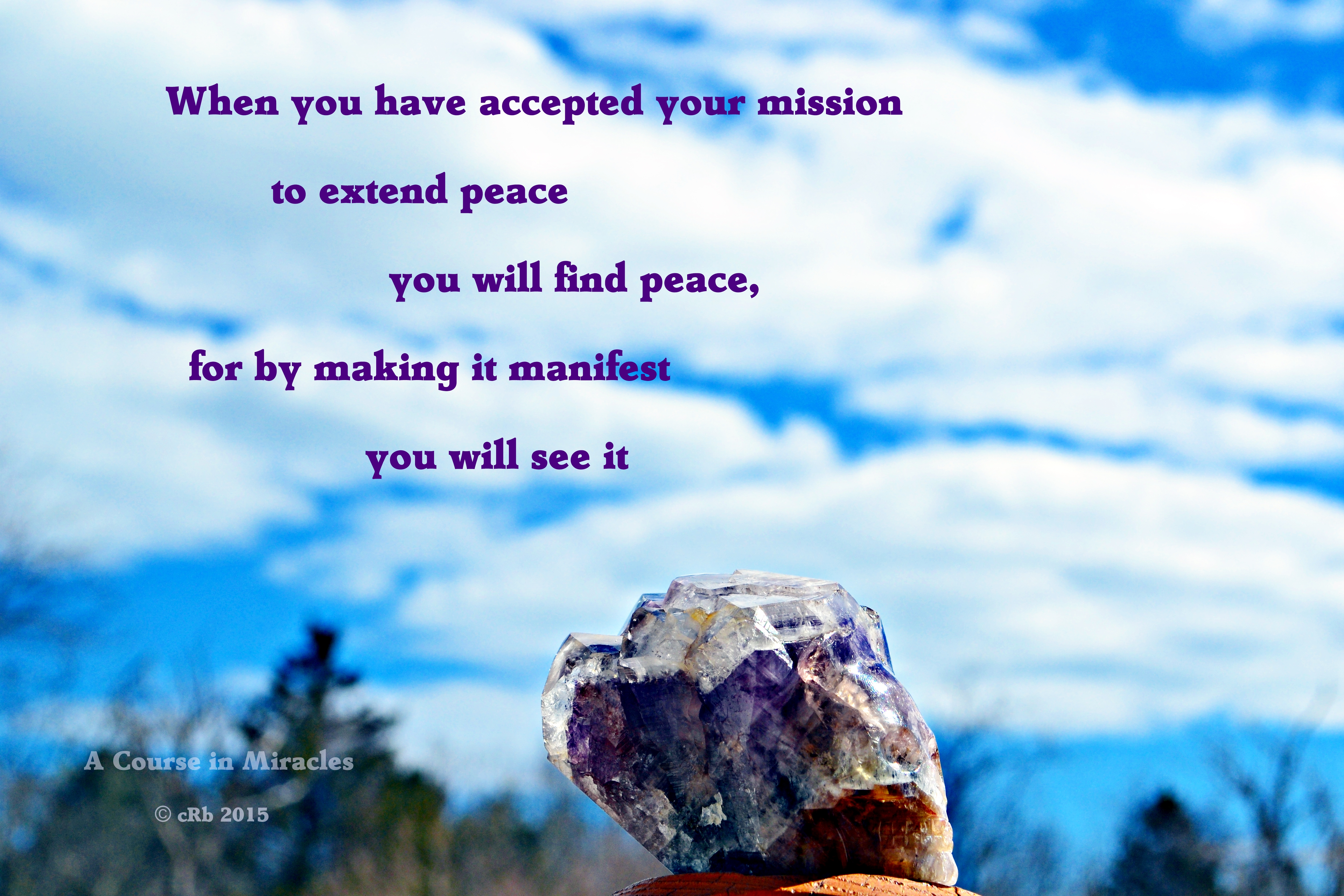 ACIM Extend Peace
