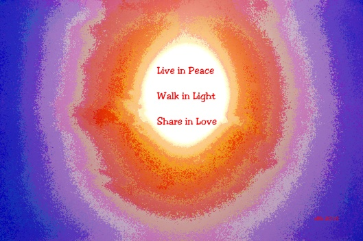 Peace, Light and Love
