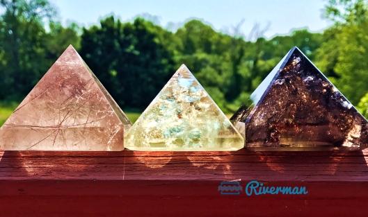 Pyramids in the Sun