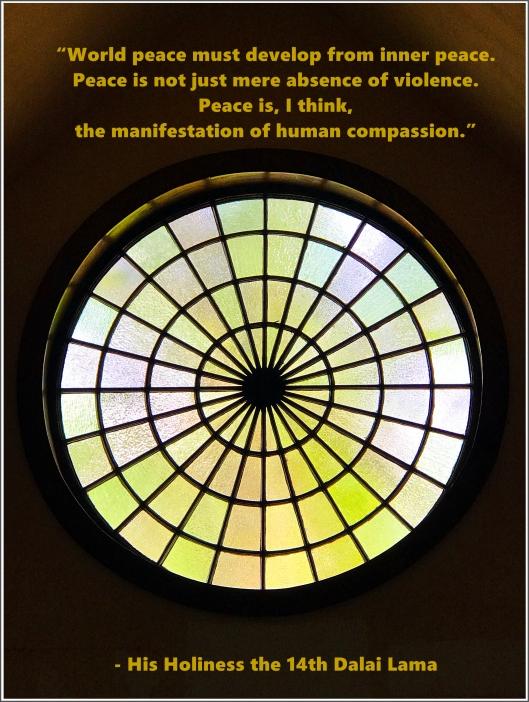 Peace- Dalai Lama