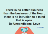 Business of the Heart