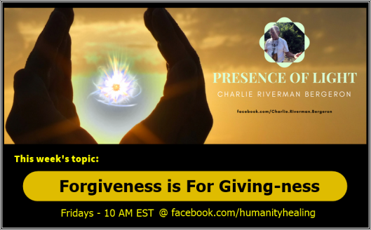 Forgiveness is For Giving-ness