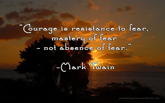 fear Mark Twain