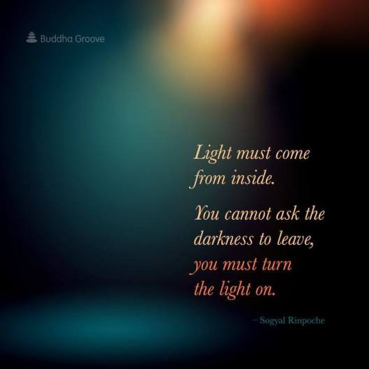 Light must come from inside