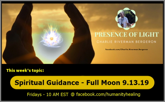 Spiritual Guidance Full Moon 9.13.19