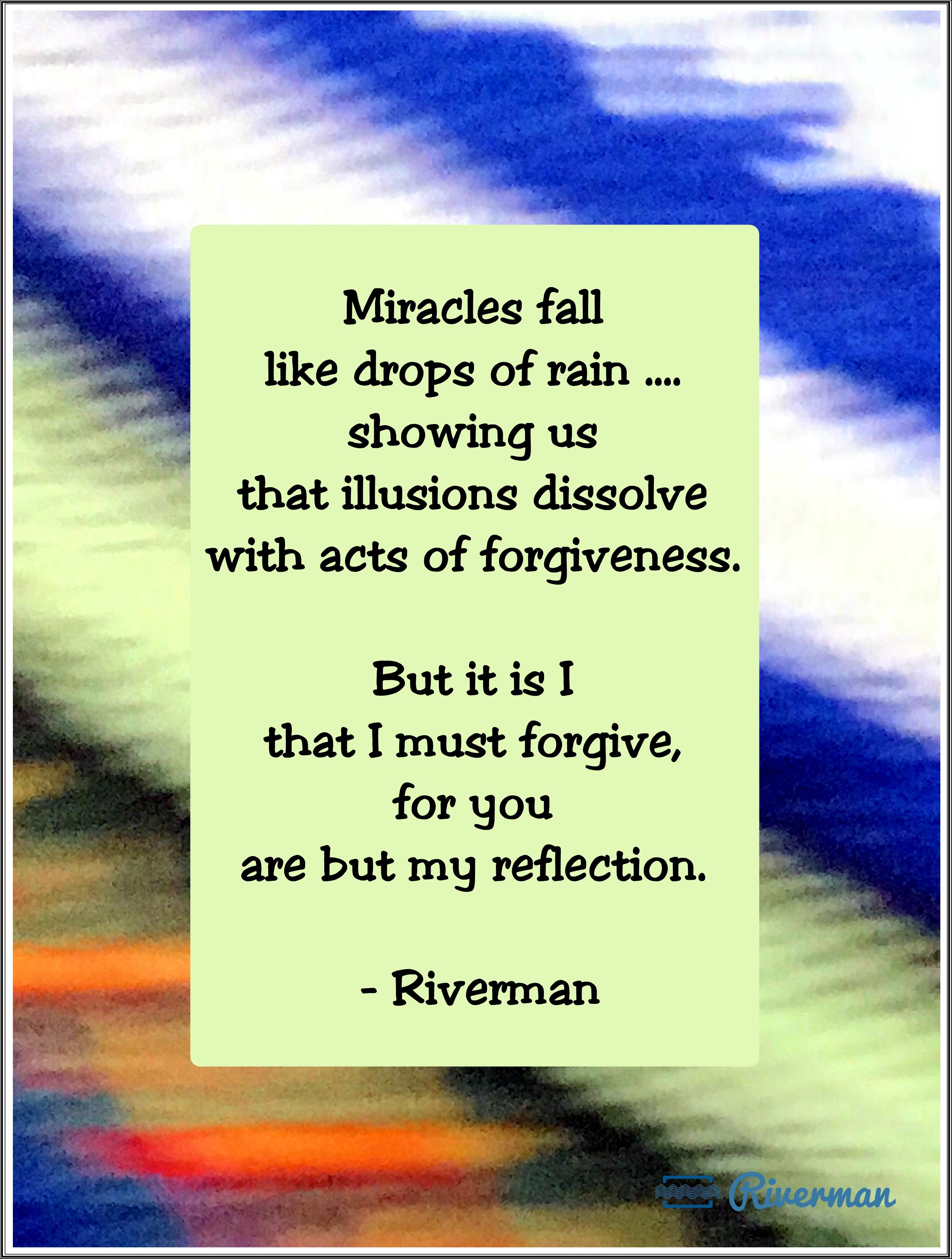 Miracles and Forgiveness