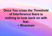 Threshold Of Interference