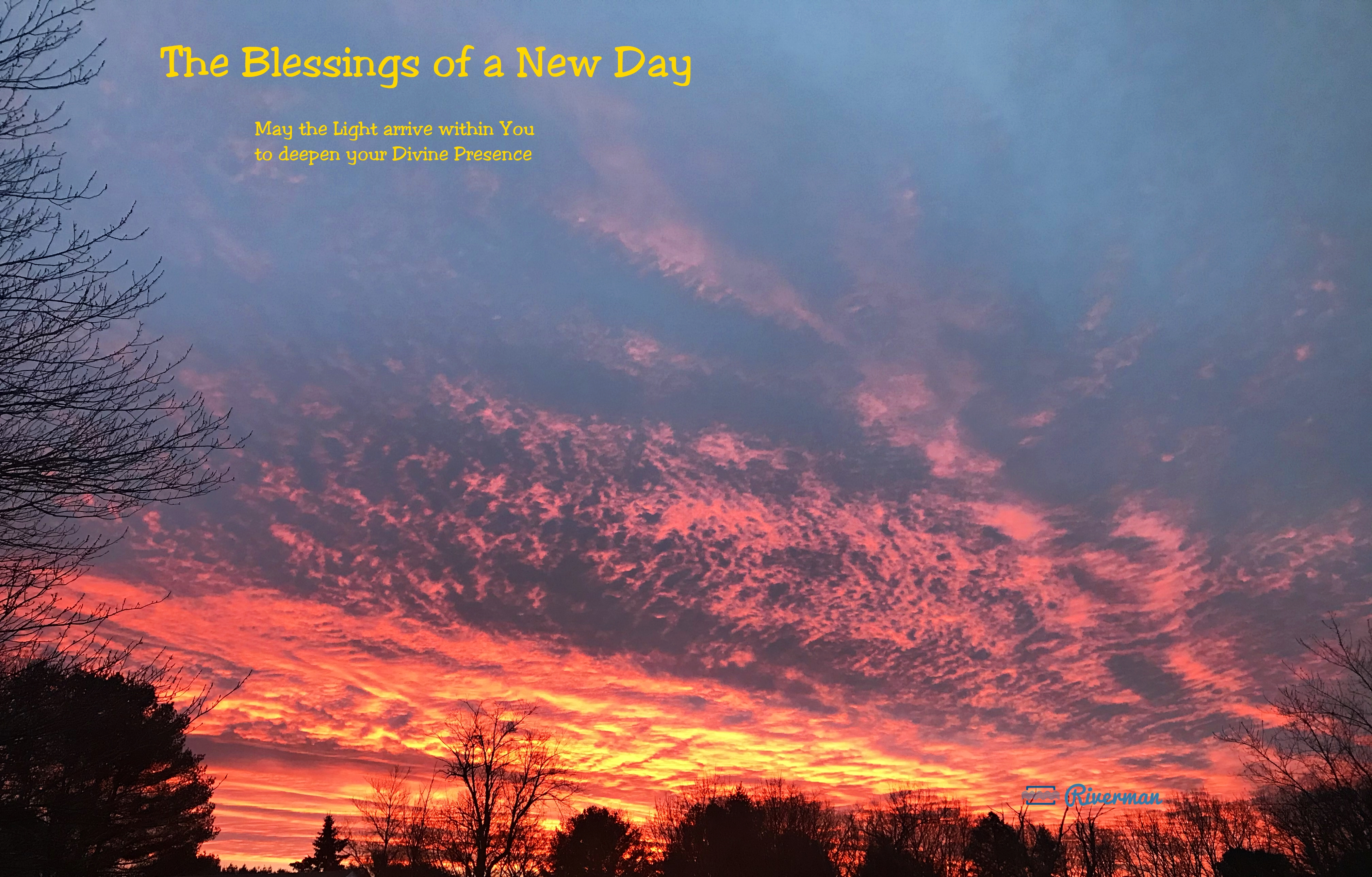 New Day Blessings
