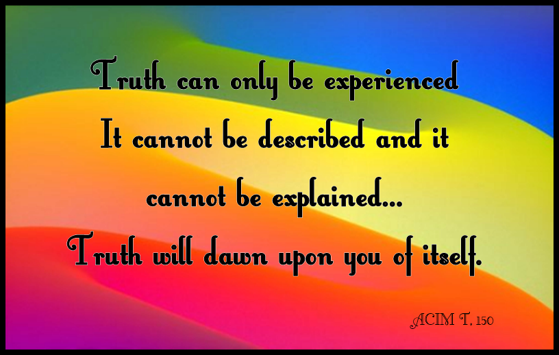 ACIM - Truth T,150