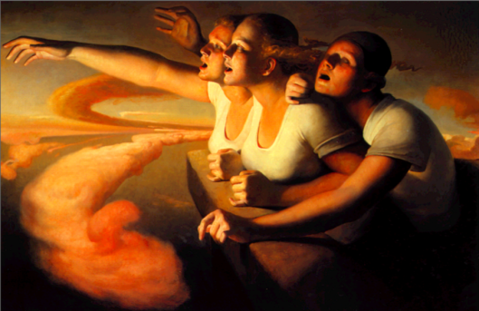 Return of the Sun - Odd Nerdrum